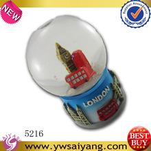 London polyresin snow globes souvenir famous Souvenirs Custom Promotional crafts Gift wholesale