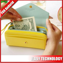 handy with card slots lanyard wallet mobile phone bags cases for iphone 6