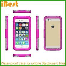 iBest custom bamboo for iphone 6 case/waterproof case for iphone, waterproof case ip67