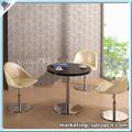 Thé table ronde et chaises pivotantes ensemble pour salle à manger( sp.- dst669)