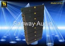 LA-6.5 Audio Mini Line Array System Cabinet Guangzhou Factory