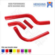 Motorcycle silicone radiator hose kit for KAWASAKI KXF250 KX250F RMZ250 RMZ 250 2004 parts 4pcs