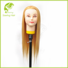 Hairdressing Cosmetology Salon Hair Model Practice Training Head Mannequin
