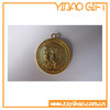 2014 hot sale 3D gold coins soft enamel coins with bronze material
