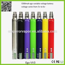 Top selling ego-v v2 mega 1200mah variable voltage battery from China supplier