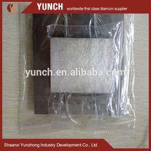 titanium sheet metal/nickel titanium shape alloy sheet/acid pickling titanium sheet