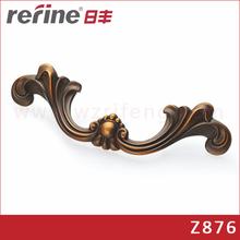 Antique style furniture bedroom handles /brass sliver coffee