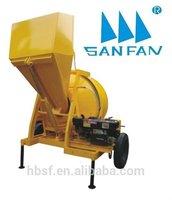 JZR350H diesel concrete pumping machine and concrete mixer