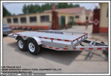 flat top tandem trailer