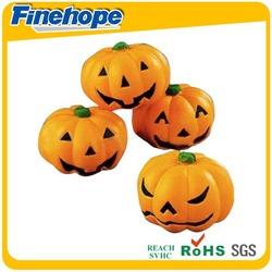 2014Good quality sweet pu foam halloween pumpkin lamp pumpkin designs