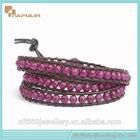 2014 wholesale indian purple jade jewelry bracelets