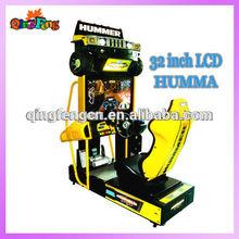 2014 amusement car racing video arcade game machine 32 LCD All dynamic Hummer racing machine MR-QF240-2