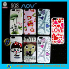 mobile phone case IMD printing logo for iphone 6 TPU case