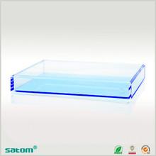 acrylic bath room amenity tray on sale