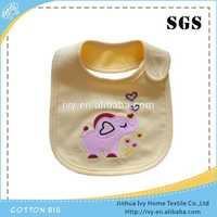 2014 Hot Sale Multi styles Baby Bibs 100 cotton interlock fabric baby bib with printing