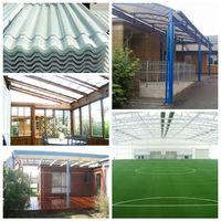 translucent plastic corrugated roof panels