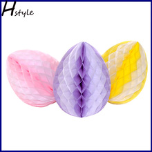 DIY Honeycomb Easter Eggs SD060