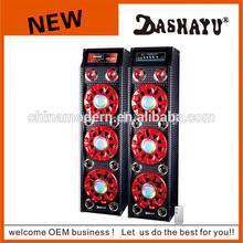 high quality super bass profesional audio amplifier speaker