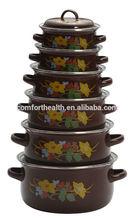 New design metal printed casserole dish insulated casserole hot pot