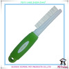 PR80017-1 fashion 2014 new dog removal comb brush pet grooming deshedding pet rake for short hair dog