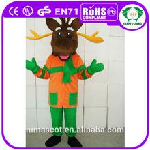 hola en71 caliente de la venta de la diversión de navidad disfraces de navidad renos de vestuario