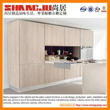 Melamine kitchen Professional design modern interior furniture design