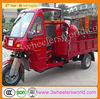 China strong engine low cost 250cc Cabin Three wheel motorcycle/motorized tricycle