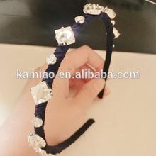 2014 girls hair accessory fashion hair band crystal bridal headband