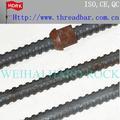 Bonne qualité de haute résistance pleine filetée bar, tige filetée et accessoires, extrémité filetée bar