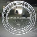 قطر 4m 300*300mm مربع الالومنيوم الدائرة تروس