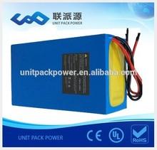 High quality Balancing BMS 36v lithium polymer battery