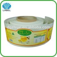 roll peel off labels