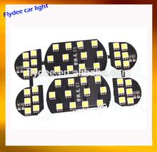 Car led bulb kit include reading light, festoon light, indicator lamp for Citroen model