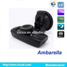 China supplier 1.5 inch Ambarella mini dvr car camera spy