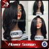 Lace Front Wig Virgin Human Hair Long Indian Natural Hair Wig