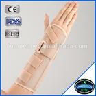 Cheap wholesale breathable alumium orthopedic wrist braces(right)
