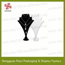 Stylish fancy free standing acrylic necklaces jewelry display