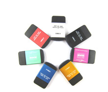 Mini All In One 480Mbps usb 2.0 card reader SD TF Card Reader