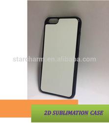 2D Sublimation Plastic Case for Iphone 6