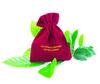 velvet bag with logo for chirstmas gift/cosmetics bag