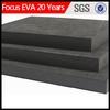 eva environmental eva and rubber block/ black eva foam board sheet