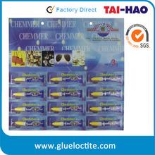 bonding aluminium strong drying waterproof glue for rubber
