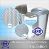 waterproof thermal resistant concrete underlay