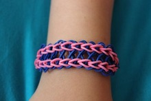 Splendid Colorful Rubber Loom Bracelets