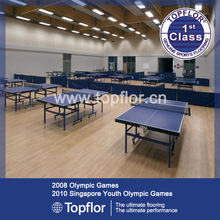 Maple Sports Flooring for Table Tennis Court