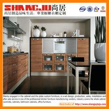 Melamine kitchen Professional design 2014 new modern kitchen furniture design