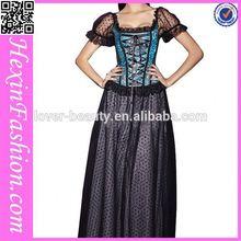 black and green lace big women corset xxl