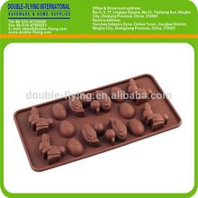 Silicone Animal Shape Chocolate Mold, Baking Mold, Cake Decorations