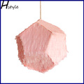 Meteorito piñata- de color rosa sd073