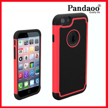 Shockproof Football PC Silicone Case for iphone 6/iphone 6 plus